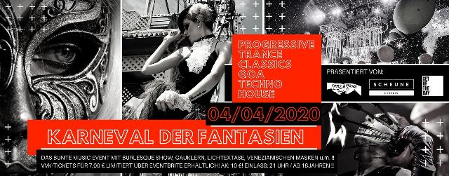Karneval der Fantasien + Burlesque Show